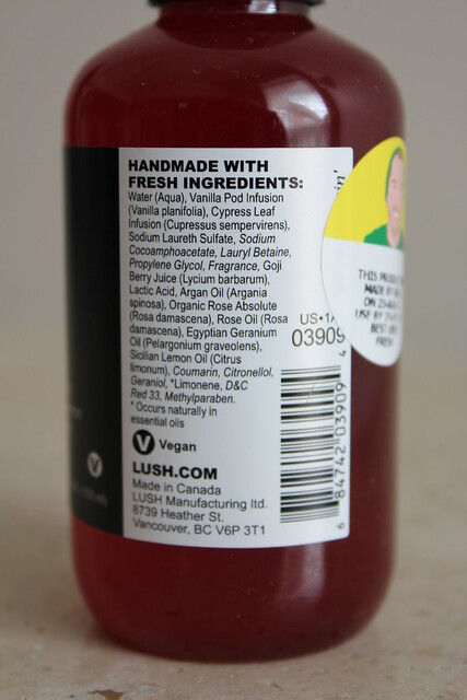 lush rose jam review