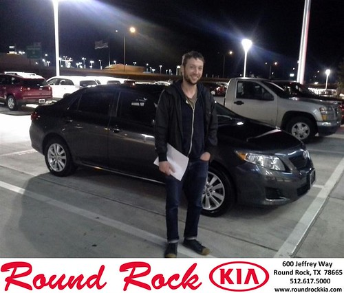 Thank you to Nathaniel Burrow on your new 2010 #Toyota #Corolla from Eric Armendariz and everyone at Round Rock Kia! #NewCar by RoundRockKia
