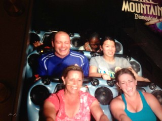 Space Mountain ride picture