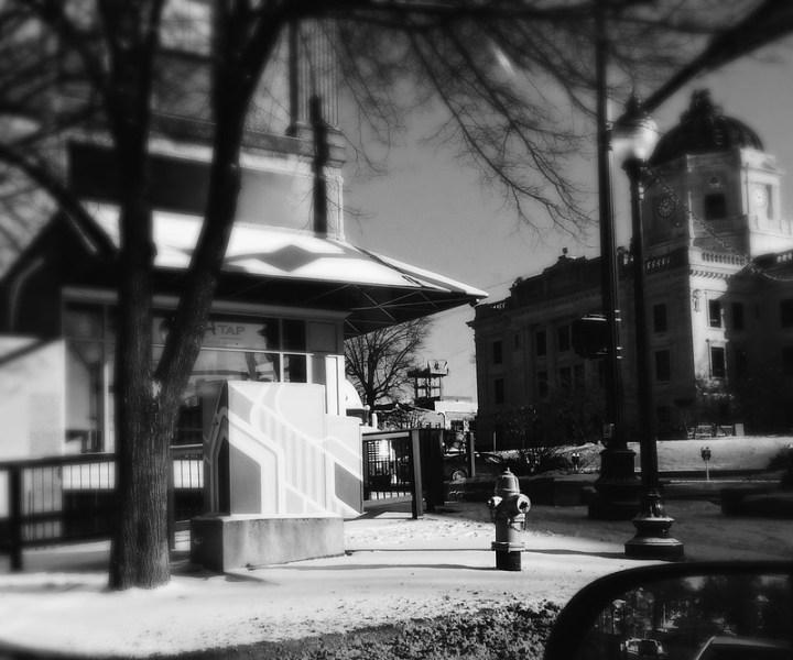 Corner of Kirkwood and College