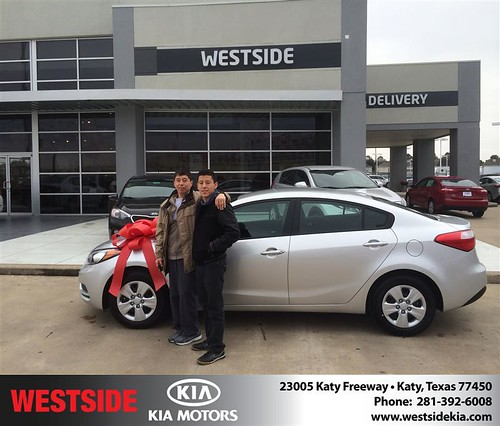 Thank you to William  Santo MãO on your new 2014 #Kia #Forte from Orlando Baez and everyone at Westside Kia! by Westside KIA