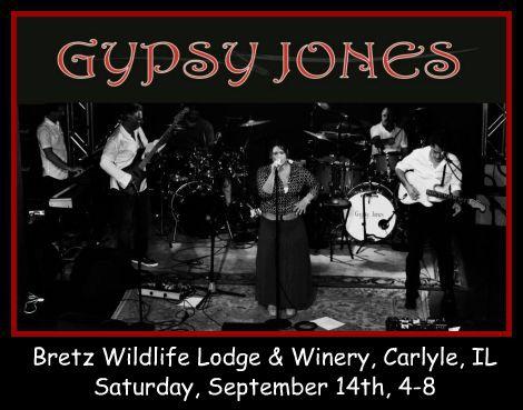 Gypsy Jones 9-14-13