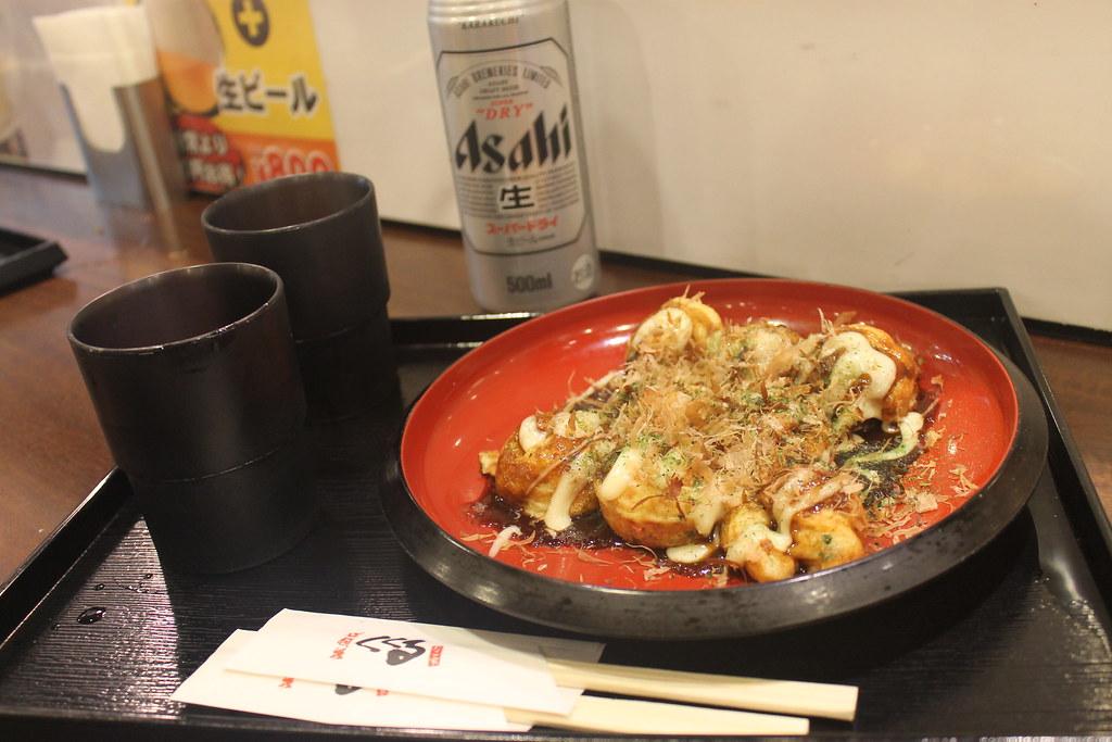 Takoyaki en Shin Osaka