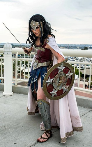 Warrior Wonder Woman Cosplay