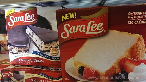 Sara Lee Cookie & Cream Original Cream Cheesecake