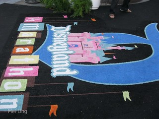 Disneyland half marathon carpet