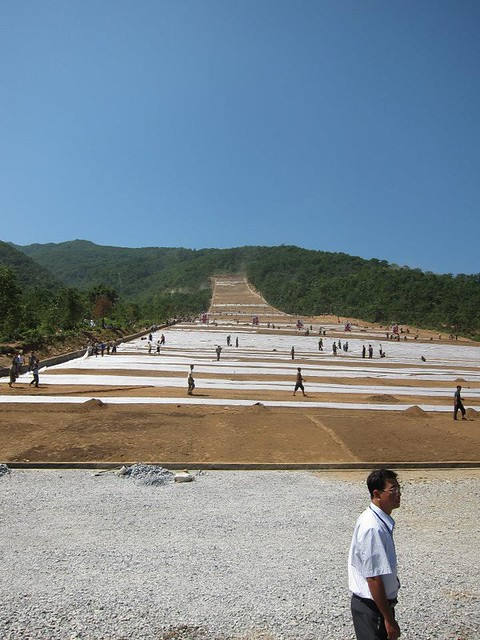 North Korean Ski Slope