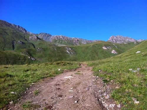 Aufstieg Wilde Kreuzspitze