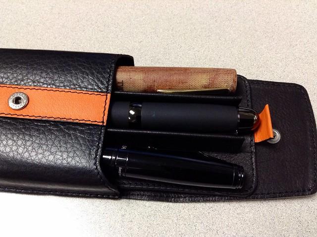 Ducati Leather Pen Case