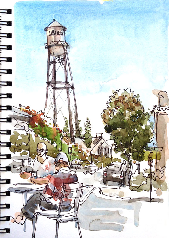 Campbell Water Tower, Campbell, California