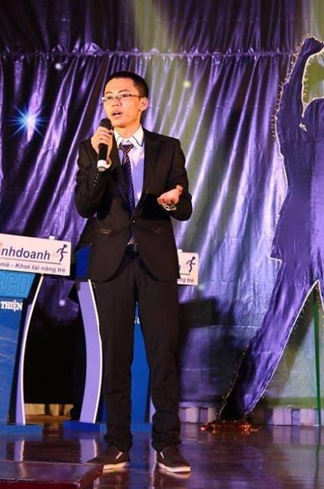 """Phạm Thái Vũ trong cuộc thi """"Thử tài kinh doanh lần 3"""""""