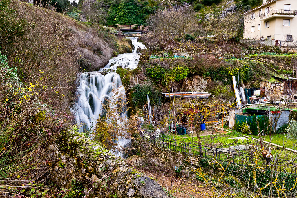 Saltos de agua del río Molinar - Water falls of Molinar river