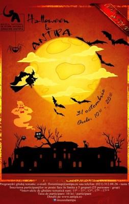 Afis Halloween la Antipa