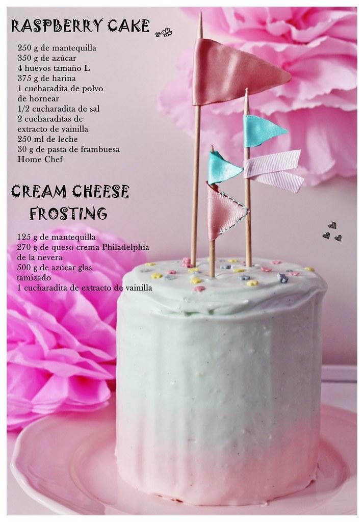 Receta Layer cakes de Frambuesa