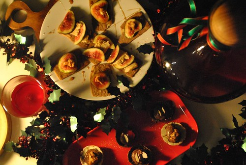 Canapes easy christmas entertaining