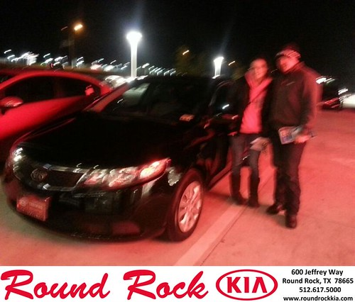 Thank you to Kathryn Smith on your new 2012 #Kia #Forte from Rudy Armendariz and everyone at Round Rock Kia! #NewCarSmell by RoundRockKia