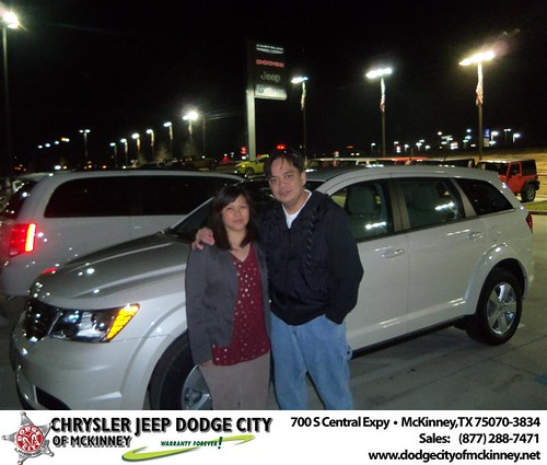 Happy Anniversary to Carlo Santos on your 2013 #Dodge #Journey from Bobby Crosby  and everyone at Dodge City of McKinney! #Anniversary by Dodge City McKinney Texas