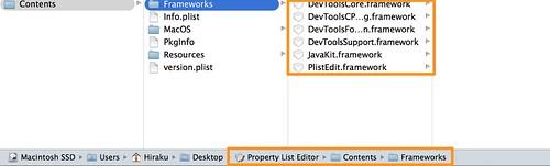 Plist Frameworks