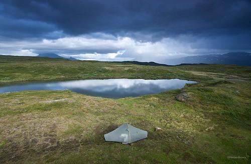 Camp near Balvatnet