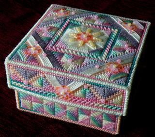 Stitched Box - Sugar Rush, closed