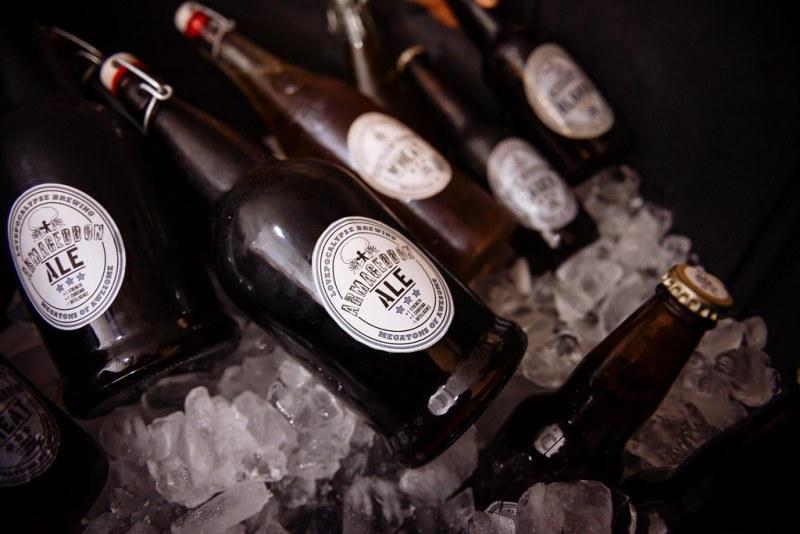 Armageddon Ale home brewed beer