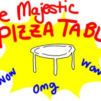 The Majestic Pizza Table