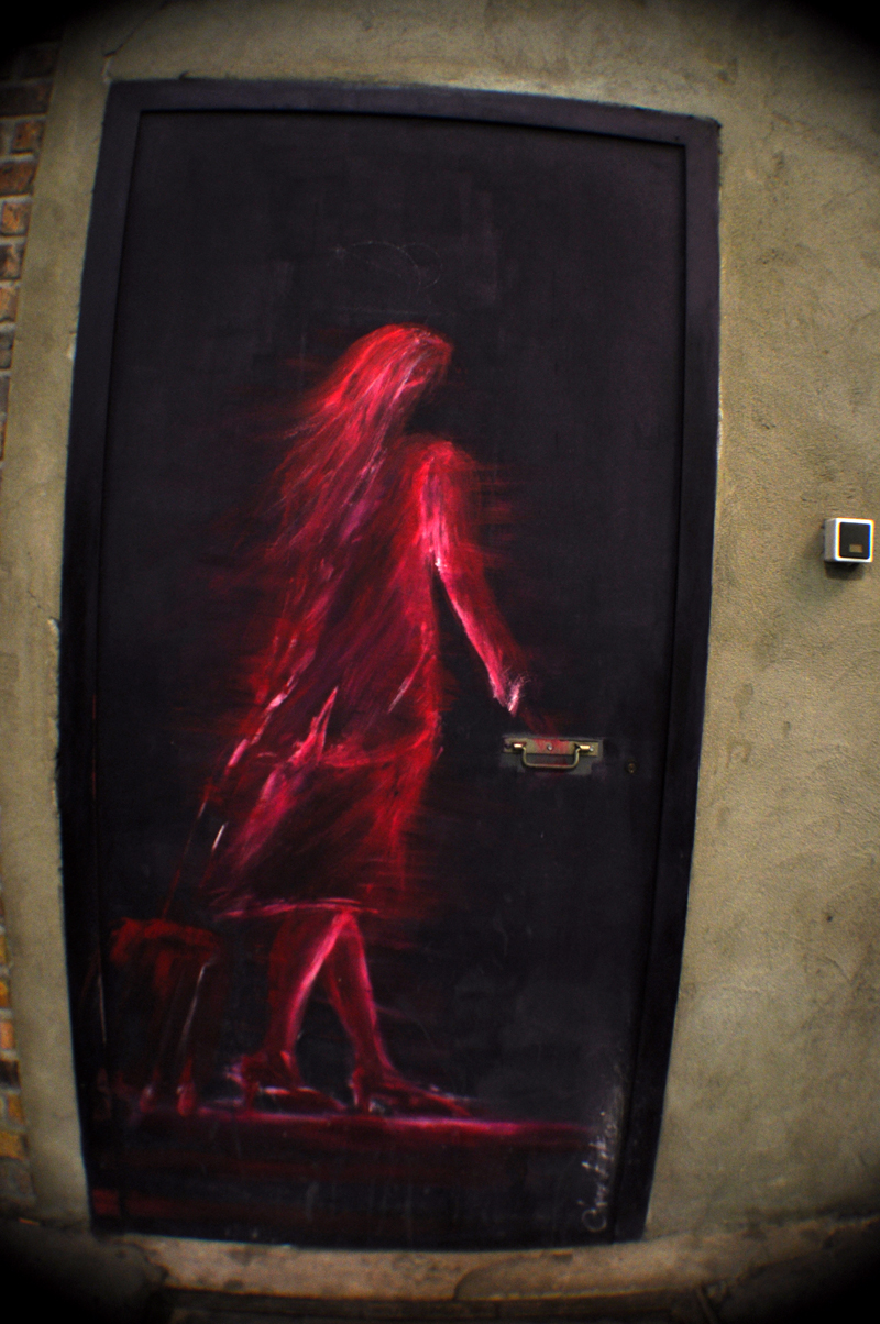 Femme Rouge Pastels
