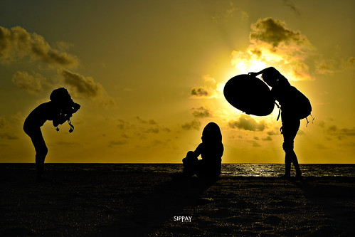 Sunset photo shoot by sippay