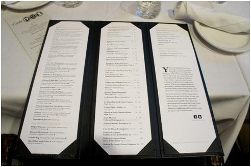 cache menu