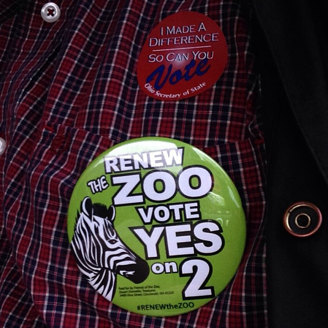 Just voted #YESon2 to #RENEWtheZOO!