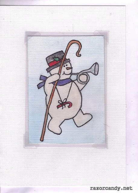snowman - cane  (5)