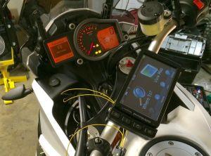 Installing BMW Navigator V GPS on KTM 1190 | Adventure Rider