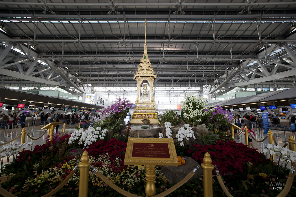 Shrine at Suvarnabhumi