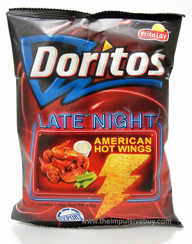 Frito-Lay Late Night American Hot Wings (Taiwan)
