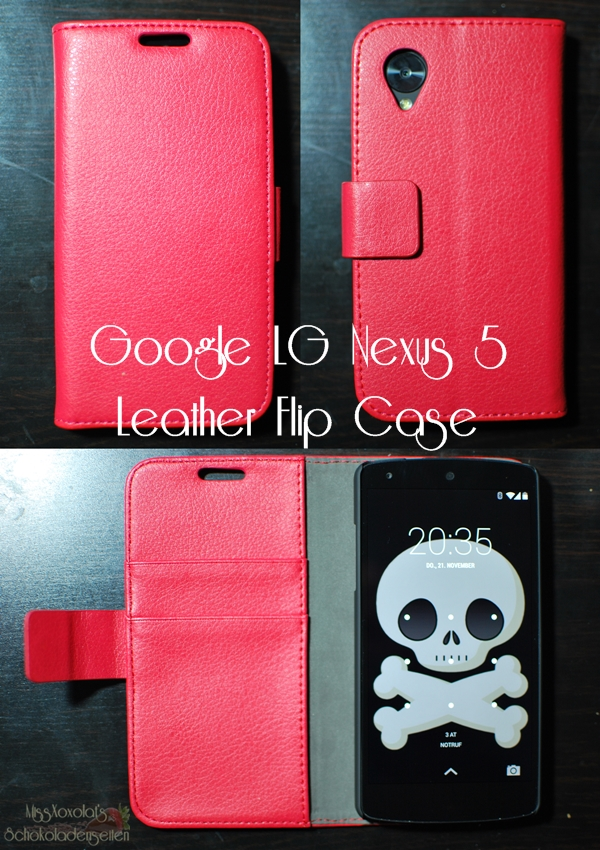 Google LG Nexus 5 Leather Flip Case