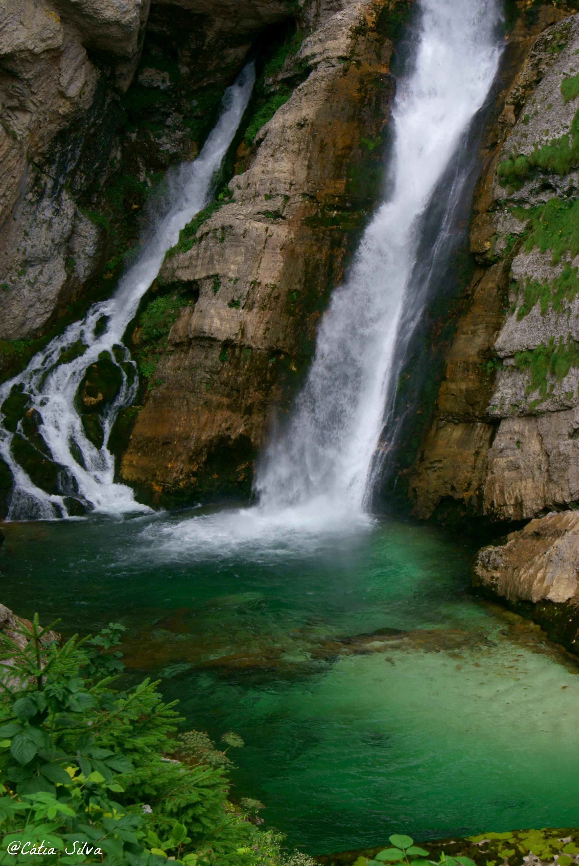Slap Slavica - Lago Bohinj - Eslovenia (6)