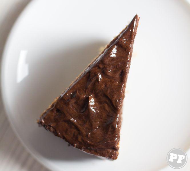 Bolo de Banana & Creme de Chocolate