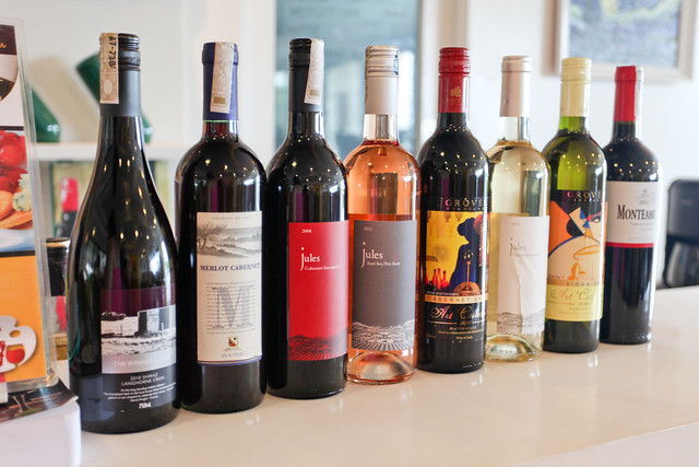 Wines at Sip and Gogh