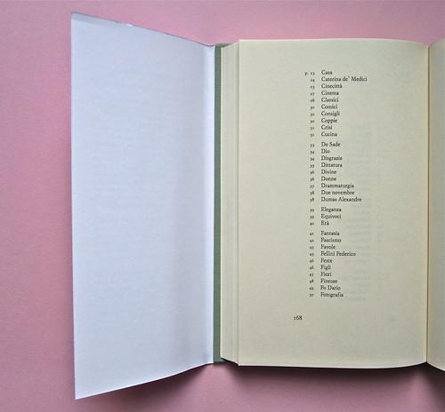 Alfabeto Poli, a cura di Luca Scarlini. Einaudi 2013. [resp. graf. e iconograf. non indicata]. Fotog. di cop.: ritr. b/n di P. Poli di G. Harari. Pag. 168 (part.), 1
