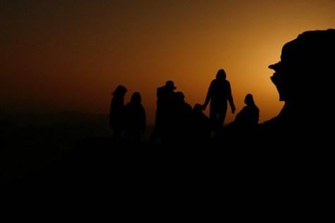 Sunrise over Mount Sinai, Egypt