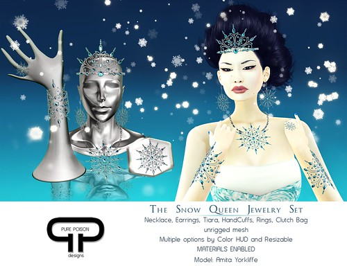 Pure Poison - The Snow Queen Jewelry Set