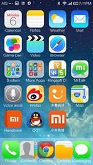 Home screen ธีม iOS7 เหมือนเชียว