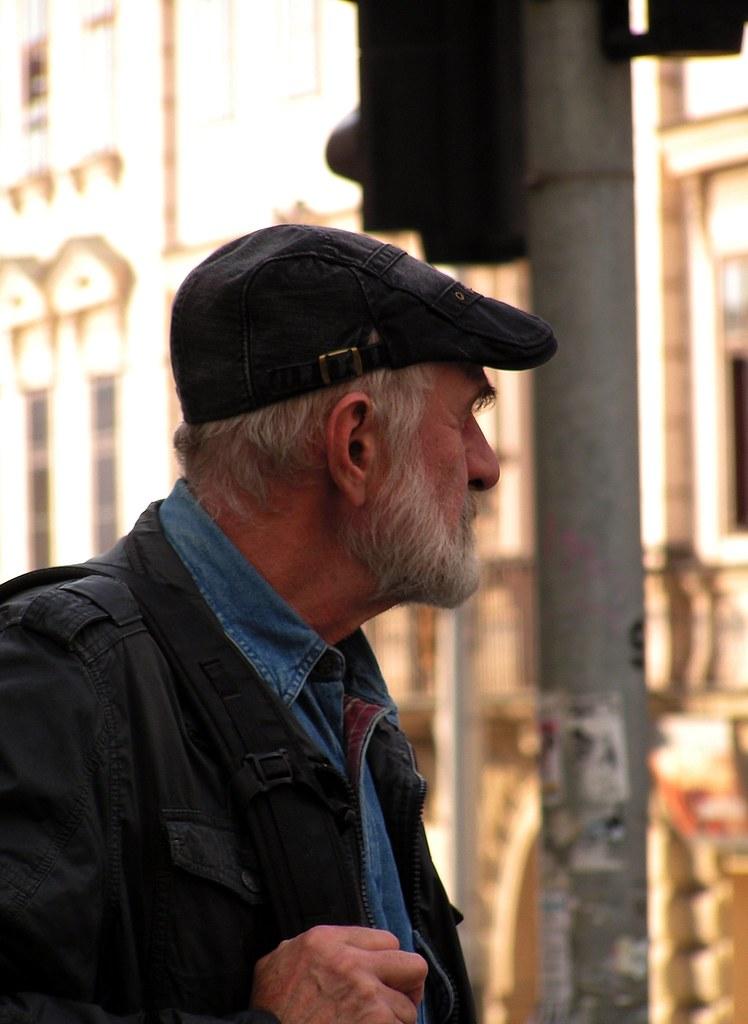 Man at Crosswalk