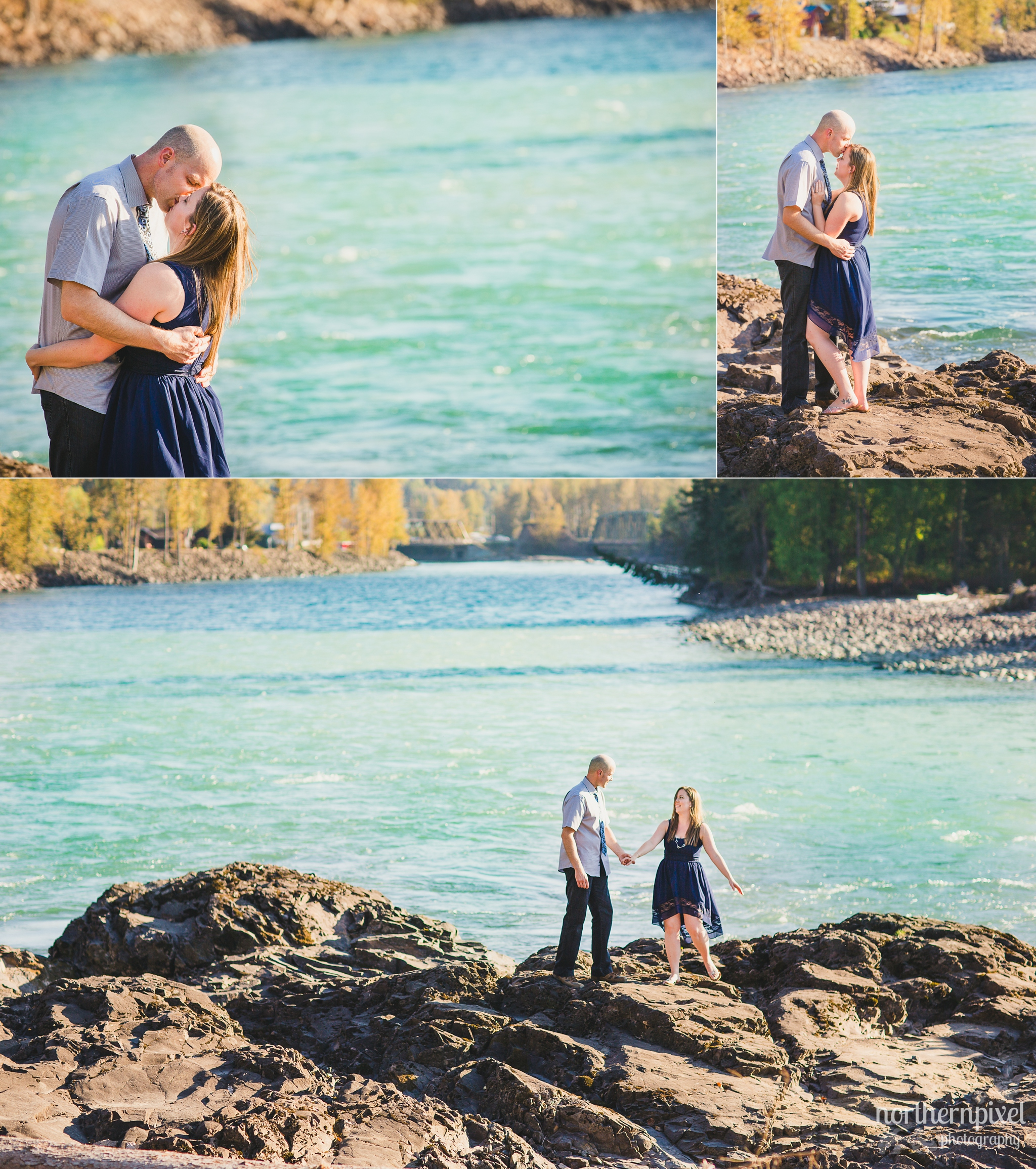 Engagement Session at Eddie Park in Telkwa BC