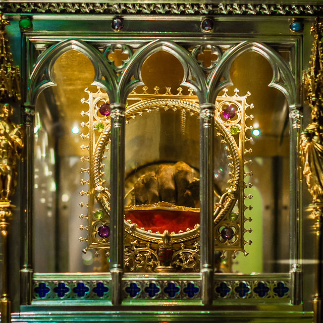 St. Stephen's Hand, St. Stephen Basilica, Budapest, Hungary