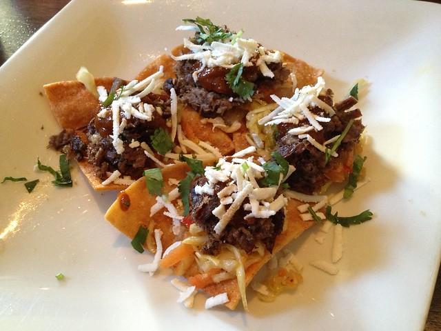 Carne asada nachos - Eureka Restaurant and Lounge
