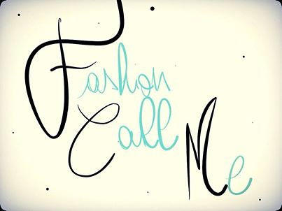 Fashion Call Me logo by blondefrancy