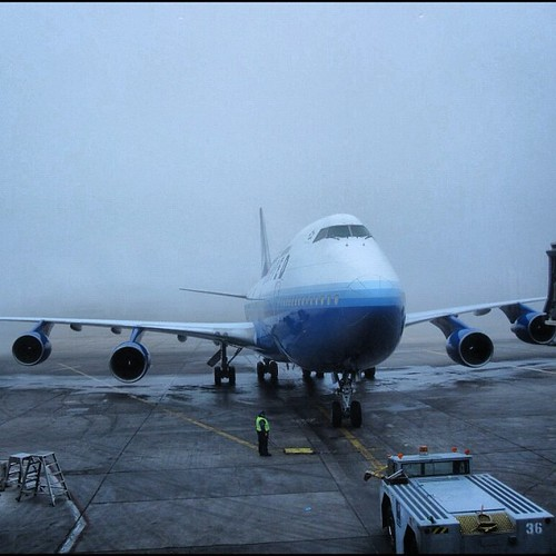 United 747 taken at Denver International Airport by @MySoDotCom