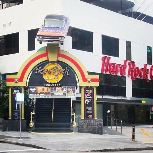 Hard Rock Cafe #singapore by @MySoDotCom