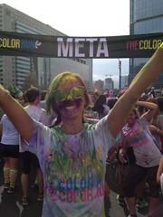 Colour Run: Meta Annie